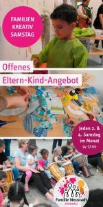 Familien Kreativ Samstag @ Familienzentrum Kita Lasiuszeile | Berlin | Berlin | Deutschland