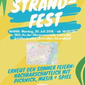"Strandfest @ Uferpromenade ""Zum alten Strandbad"""